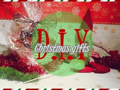 DIY: 4 ideas de regalos para navidad.4 Christmas gifts ideas + wrappings (English sub)
