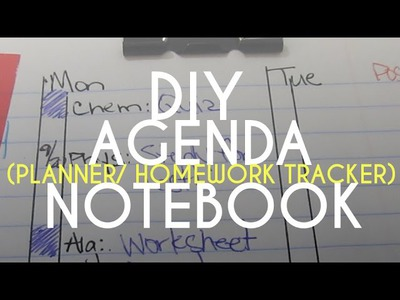 DIY Agenda and Planner | SugarStilettosStyle
