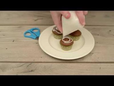 DIY Christmas Decoration decorating cornet. Jak zrobić rękaw cukierniczy? Tutorial