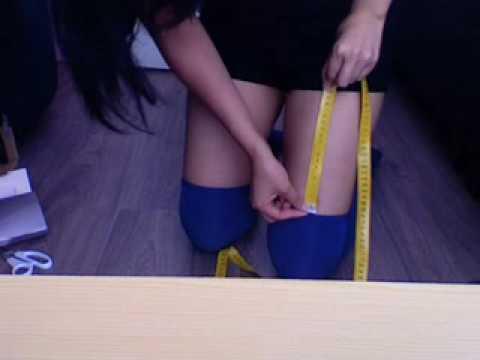 Diy: long socks & hold ups 2
