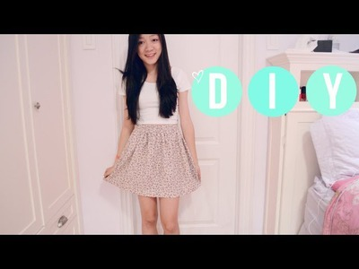 ❥ DIY Shorts Into Skirt  { CLOSET RAID }