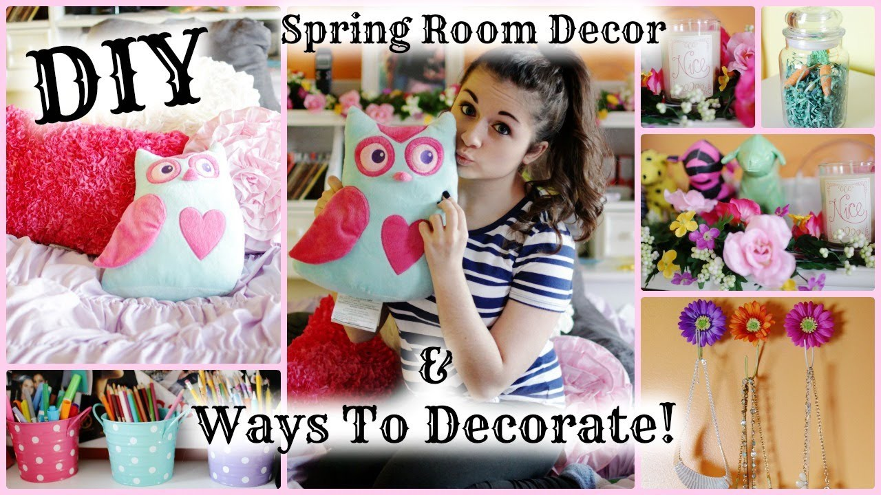 DIY Spring Room Decorations & Ways to Decorate!   March Marvel Day 5