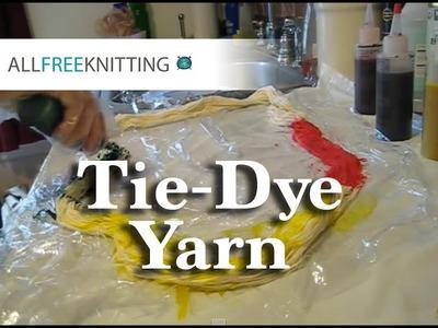 DIY Tie-Dye Yarn