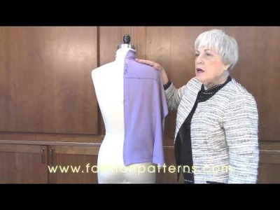 Draping with Knits to Get Your Perfect Fit