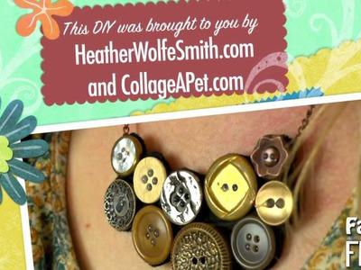Fashion Frenzy - Episode 2: Button Necklace DIY