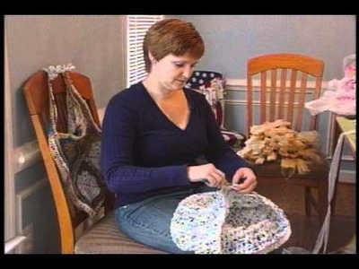 Forest Woman Uses Hobby to Recycle Plastic Bags