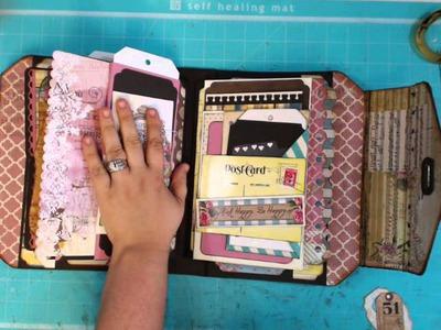 Handbag. Purse Scrapbook Album