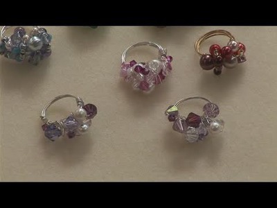 How To Create Beaded Rings