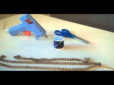 How to DIY Your Own Jeweled Belt
