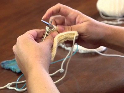 How to Do a Fishbone Stitch : Advanced Knitting Stitches