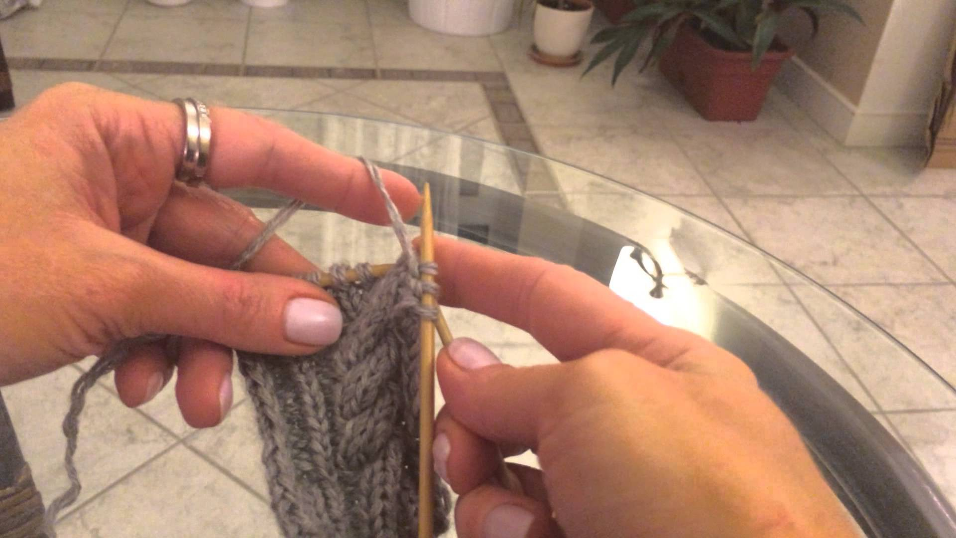 Вязание спицамивидеоуроки 20