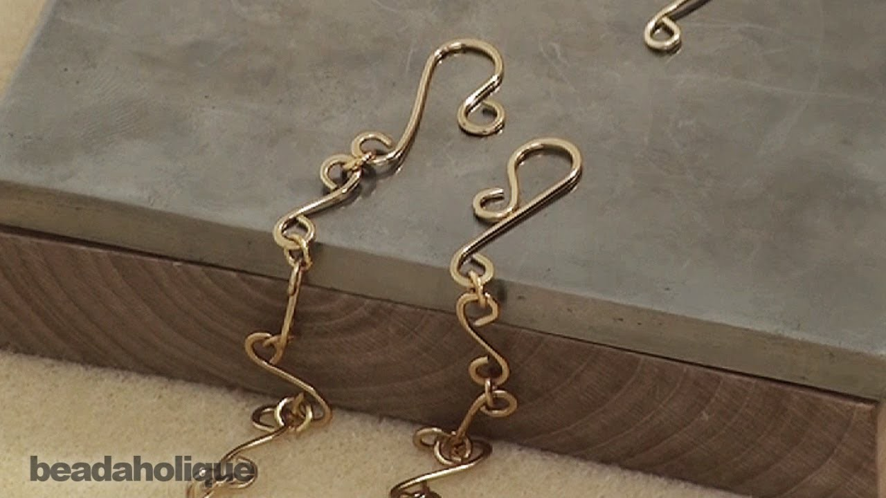 How to Make a Chain and Clasp from Wire