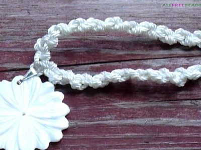 How to Make a Rope Necklace -- Wear to the Beach Jewelry Tutorial: Episode One