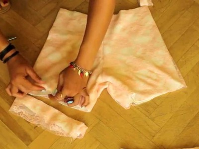 How To Make Lace Shorts | DIY Clothes