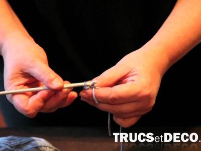 Mailles serrées en crochet - Tutoriel par trucsetdeco.com