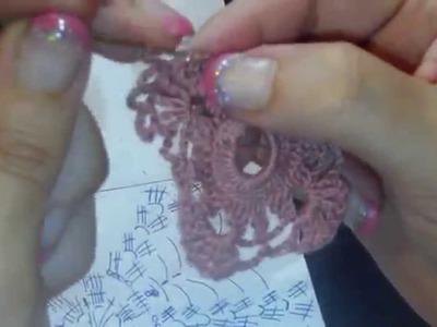 Mini doily tutorial 6