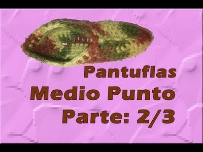 Pantuflas Medio Punto (2.3)