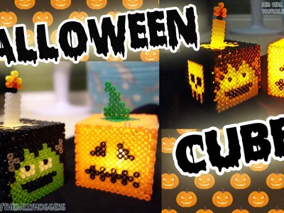 Perler.Hama Bead Halloween Cube Tutorial - How To