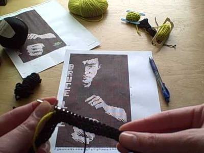 Preparing your Intarsia chart to knit