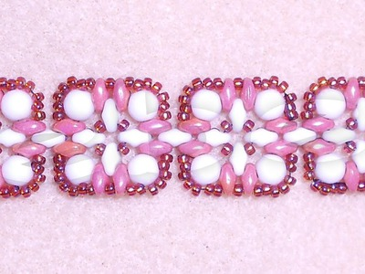 Quilted Rounduos Beading Video Tutorial by Ezeebeady