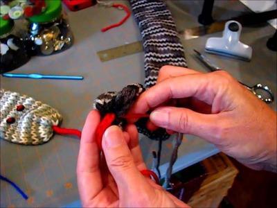 Snake Scarf: Addi Express, Crochet, Knit or Loom Knit!