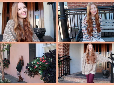 Styling Grandpa Sweaters- An Autumn Lookbook | MEGHAN HUGHES