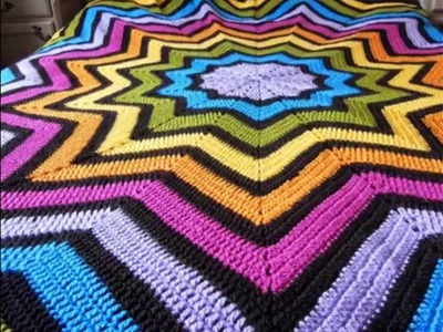 Tejidos de colchas a crochet