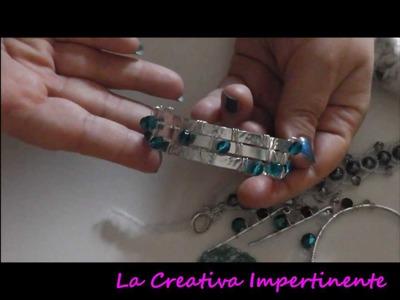 Video Creazioni: crochet,  wire, soutache e ciondolo Zanzibar | soutache necklace, beadwork pendant