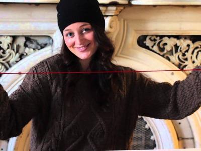 Yarn Napkin Ring DIY