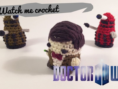 11th Doctor from Doctor Who - Watch me Crochet