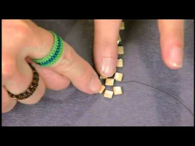 1303-2 Leslie Rogalski John Bead seed bead segment on Beads, Baubles and Jewels
