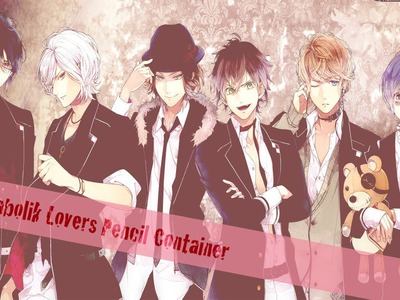Anime Decorations DIY : Diabolik Lovers Pencil Holder