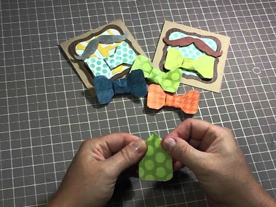 Bow tie origami tutorial