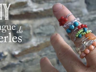Comment faire une Bague de perles
