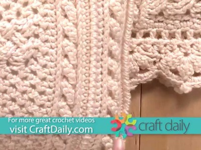 Crochet an Afghan & Pillow with a Celtic Cross Design