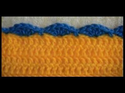 Crochet Border - Shell - Double Crochet