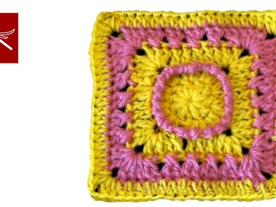 Crochet Geek - Hazy Day Crochet Square Crochet Geek