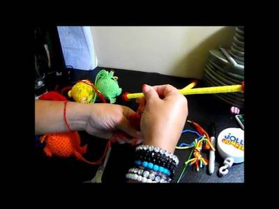 Crochet Movil Para Cunas de Bebe's Parte 2