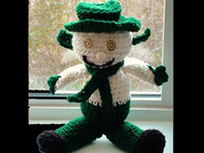 Crochet Snow Leprechaun Part 2 Crochet Geek
