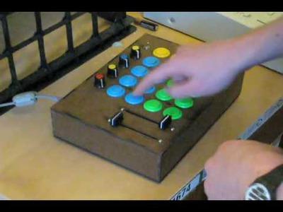 DIY Arcade Midi Controller