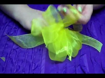 D.I.Y. Gift Bow