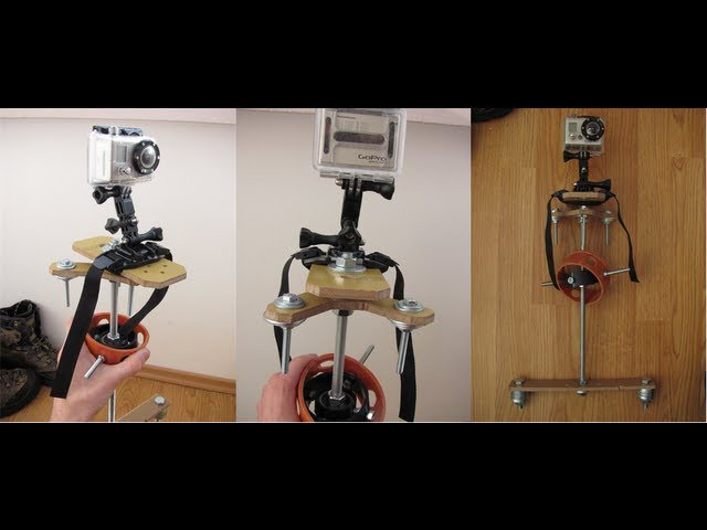 DIY Glidecam - Steadicam - Test Video - GoPro HD