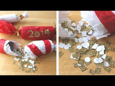 DIY New Year's Party Poppers