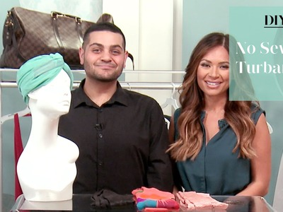 DIY No Sew Turban with Michael Costello
