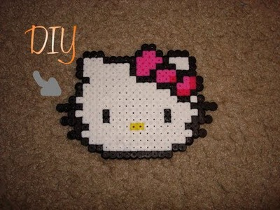 DIY: Perler Bead Hello Kitty |SweetCharmStop