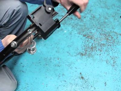 DIY Steadicam made from bike wheel, canon 60d, dslr, film,