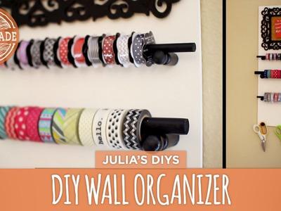 DIY Wall Organizer - HGTV Handmade