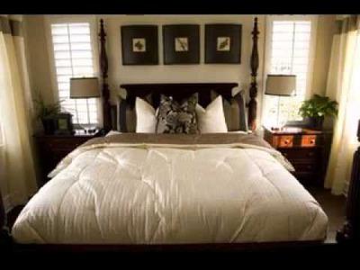 Easy DIY Small master bedroom design decorating ideas