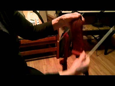 Easy Socks on two needles Part 4