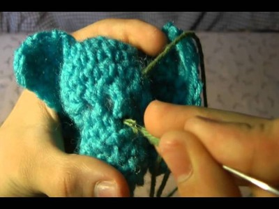 Eli's Elephant Crochet Part 4